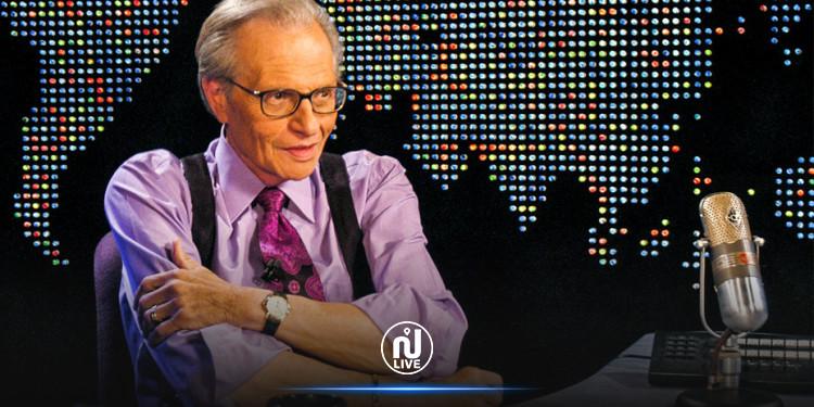 Le journaliste Larry King, légende de la télévision américaine, est mort