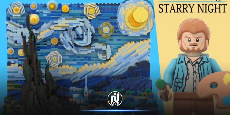Lego : La Nuit étoilée de Vincent Van Gogh bientôt en set 3D