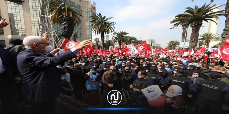 Rached Ghannouchi : « Cette marche restera dans l'histoire »