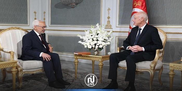 Rached Ghannouchi adresse une correspondance à Kais Saïed pour une réunion tripartite