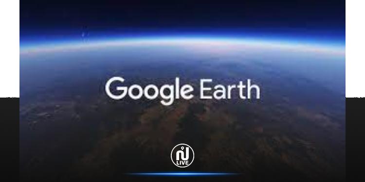Sur Google Earth, il est possible de visualiser l'accélération du réchauffement climatique