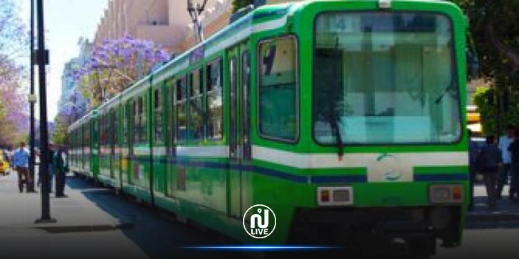 Réfection de la voie ferrée : Le trafic entre les stations Bab Saadoun et Essaidia, se fera sur une seule voie