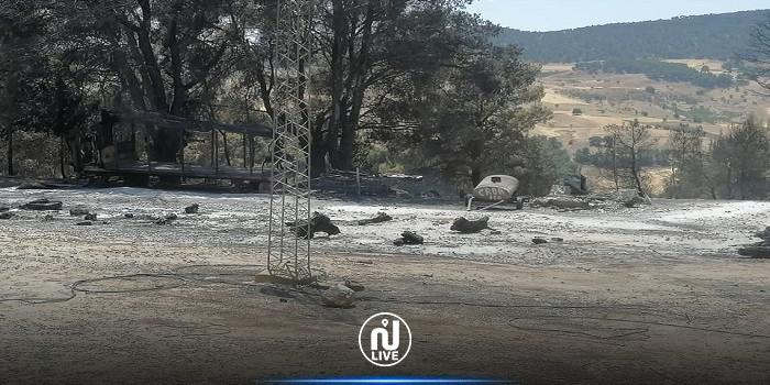 Kef: Des incendies ravagent les forêts
