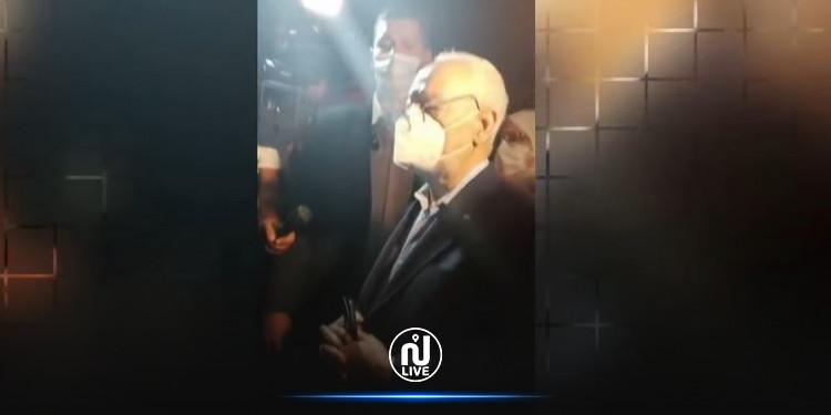 Rached Ghannouchi interdit d'entrer au Parlement