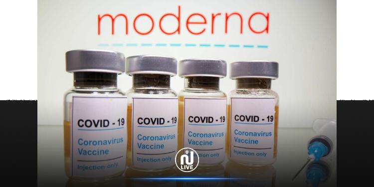 D'après la firme, le vaccin Moderna reste efficace 6 mois