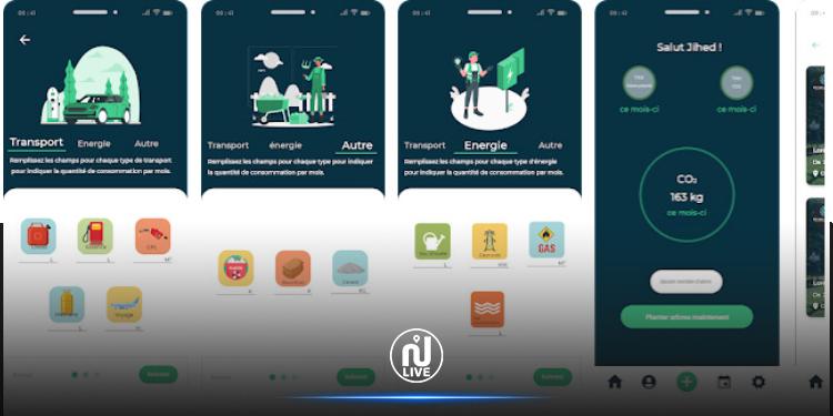 « Carbon Converter » : Une application tunisienne pour calculer les émissions de CO2 et encourager le reboisement