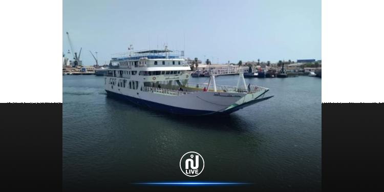 Sfax-Kerkennah : Le car-ferry Hached reprend service après 4 ans d'interruption