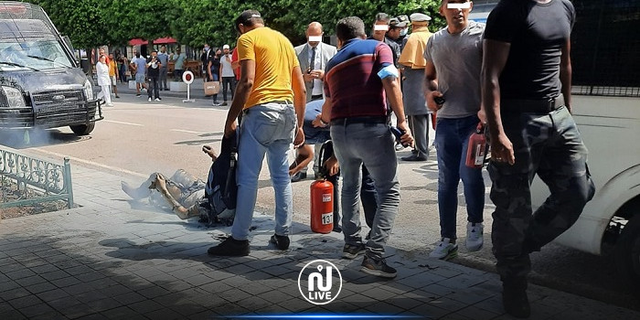Tunis : Un homme s'immole par le feu à l'avenue Habib Bourguiba