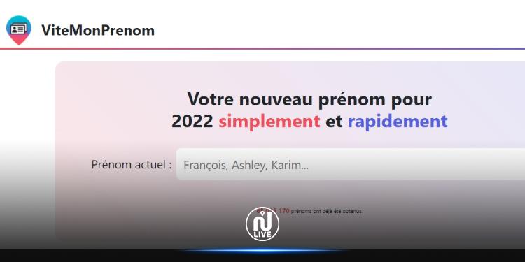 « ViteMonPrenom » : Un site qui vous attribue un nouveau prénom si Zemmour est élu
