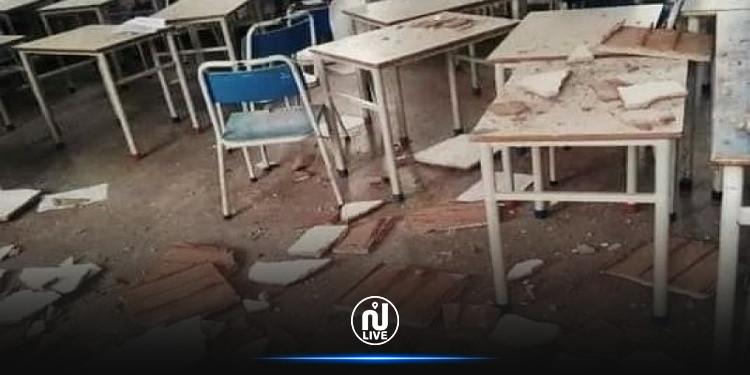 Kram : Fermeture temporaire d'une l'école primaire à la suite de l'effondrement du plafond