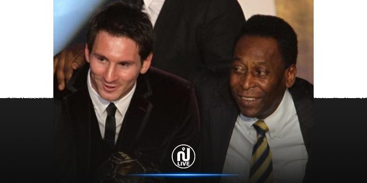 Pelé félicite Messi pour avoir battu son record de meilleur buteur