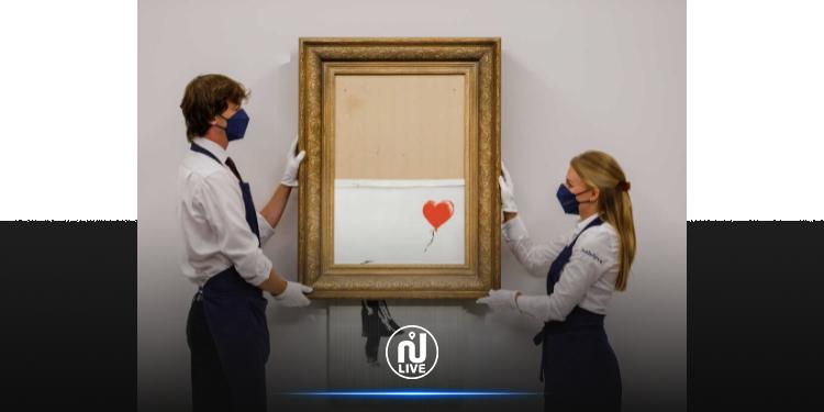 « La Fille au ballon », de Banksy, vendue 18,6 millions de livres aux enchères