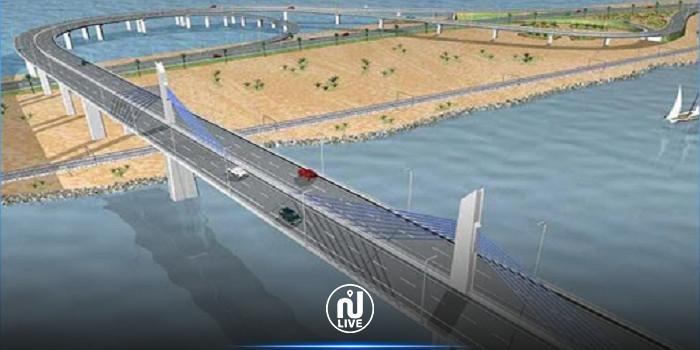انطلاق أشغال مشروع تهيئة الأحياء المتاخمة لجسر بنزرت الجديد