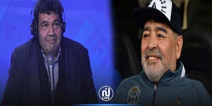 فرحات الجويني: الإسبان غلطوا فيّا...ويحسابوني مارادونا !!!