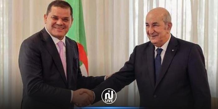 الدبيبة يطلب من الرئيس الجزائري قيادة ودعم المصالحة الداخلية الليبية