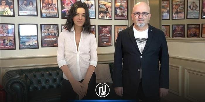 تركيا: أيبيرا أول ممثلة آلية توقع عقدا لبطولة فيلم