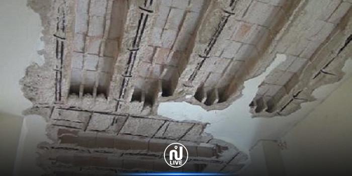 انهيار سقف غرفة بمبيت جامعي في المنستير