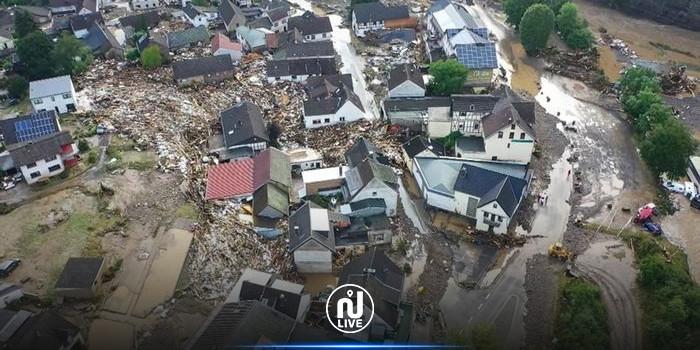 ارتفاع حصيلة ضحايا فيضانات ألمانيا إلى 81 قتيلا وأكثر من 1300 مفقود