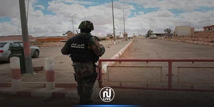 رمادة: ضبط 07 أشخاص بصدد اجتياز الحدود البرية خلسة
