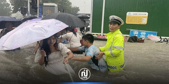 ارتفاع حصيلة ضحايا الفيضانات في مقاطعة هينان الصينية إلى 58
