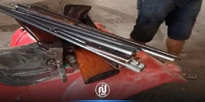 حجز 29 بندقية صيد من قبل  المصالح الديوانية بميناء جرجيس