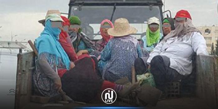 من بينهم عاملات فلاحيات: إصابة 15 شخصا في حادث مرور في جومين