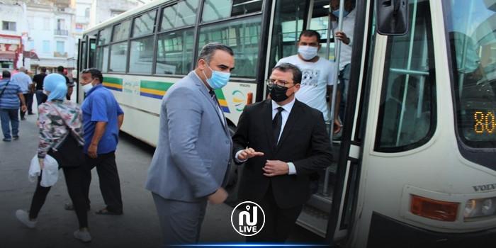 في اليوم العالمي دون سيارات: وزير النقل يستعمل الحافلة والمترو للتنقل إلى العمل (صور)