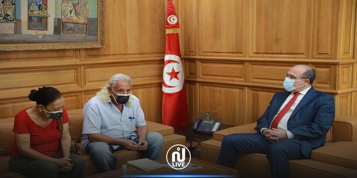 بعد التهديد بطردهما من منزلهما: وزير الثقافة يستقبل المسرحيين نور الدين وناجية الورغي