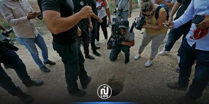 الصور الأولى لأدوات الحفر التي استخدمها الأسرى الفلسطينيون للهروب من سجن جلبوع