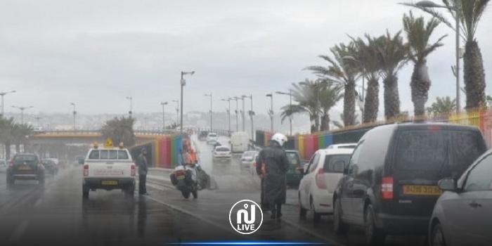 الجزائر: أمطار طوفانية في عدة مناطق (فيديو)
