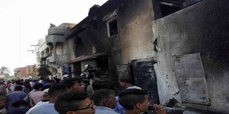 قفصة: خسائر مادية كبيرة في حريق بمحل لبيع البنزين المهرب