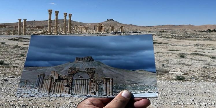 تدمر.. قبل وبعد داعش