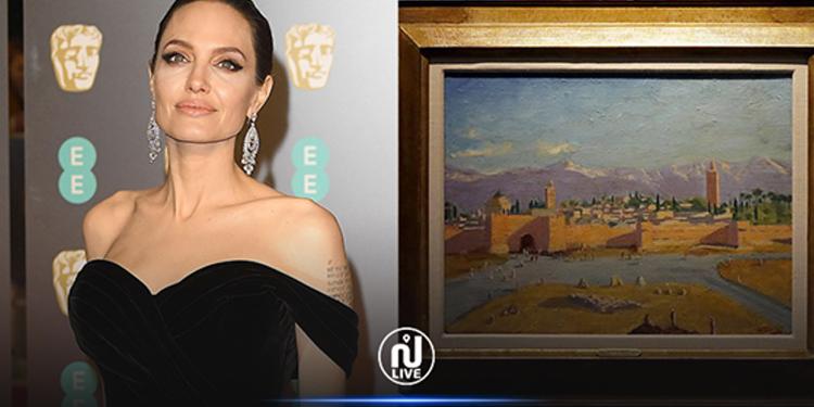 Angelina Jolie vend une toile peinte par Churchill