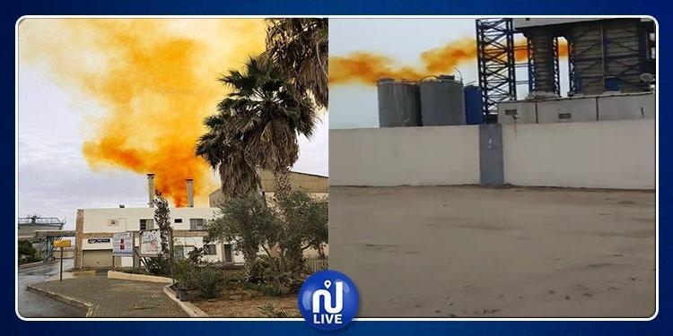 قابس: فزع وحالات اختناق بسبب انبعاث غازات من المجمع الكيميائي