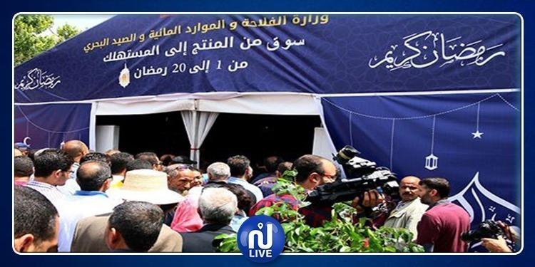 اليوم.. افتتاح نقطة بيع من المنتج للمستهلك بشارع الحبيب بورقيبة