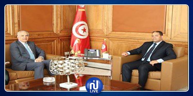 وزير أملاك الدّولة يلتقي سفير البحرين
