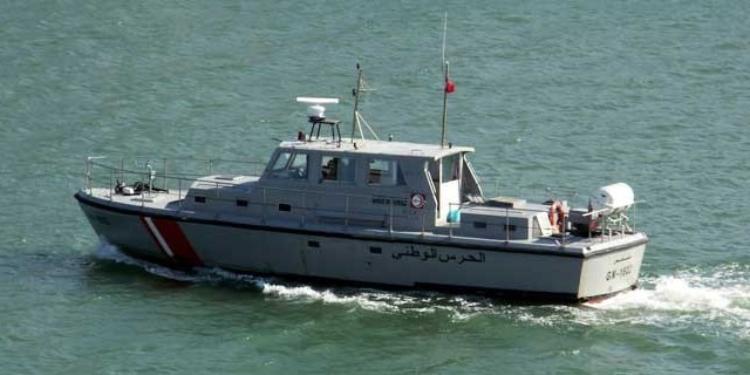 إحباط عملية اجتياز للحدود البحرية قبالة سواحل المنستير وإفشال محاولة تنظيم عملية هجرة غير شرعية نحو ايطاليا