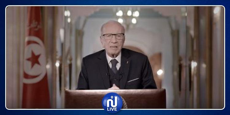 رئيس الجمهورية يهنئ الشعب التونسي بالسنة الجديدة 2019 (فيديو)
