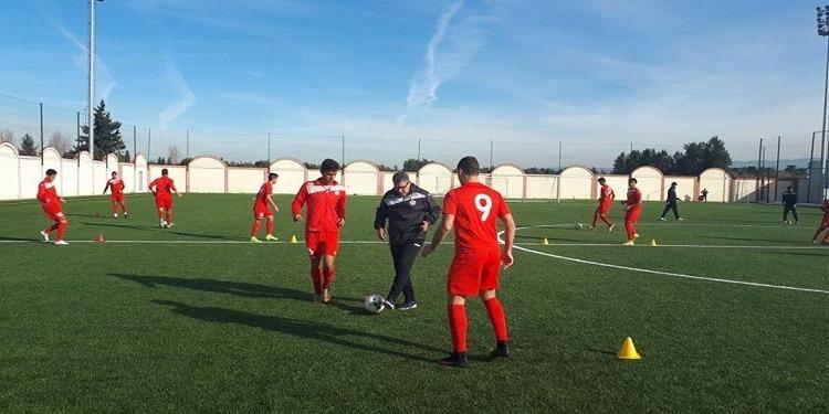 المنتخب الأولمبي يسافر اليوم إلى عمان لمواجهة المنتخب الأردني