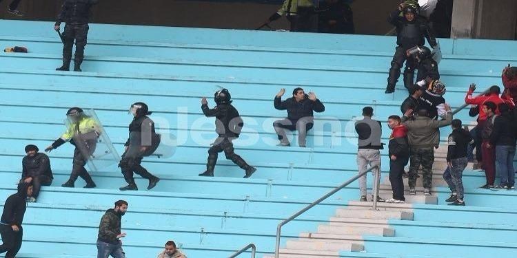 Trente-huit policiers blessés dans les incidents du stade de Radès (M. de l'Intérieur)