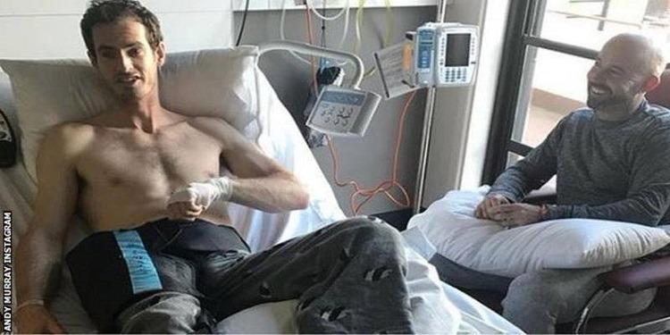 أندي موراي يخضح لعملية جراحية ناجحة
