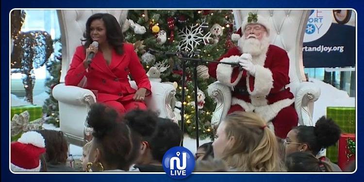 زوجة أوباما ستهديه''قميصا لممارسة الغولف'' في عيد الميلاد.. مالسر ؟