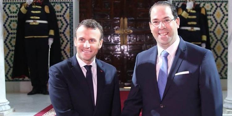 رئيس الحكومة يستقبل الرئيس الفرنسي