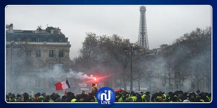 Gilets jaunes: Fermeture de la Tour Eiffel samedi