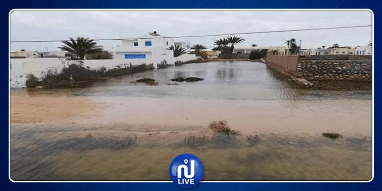 قرقنة: تخصيص مضخة عملاقة لشفط مياه الأمطار الأخيرة