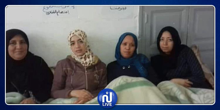 القيروان: 4 معتصمات يواصلن إضراب جوع بدأ منذ أسبوع