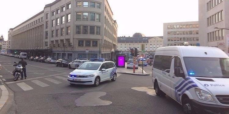 الشرطة البلجيكية تحبط هجوم انتحاري وسط بروكسل