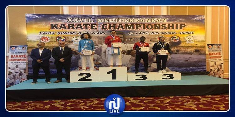 Karaté-Championnat méditerranéen: 2 médailles d'or pour la Tunisie