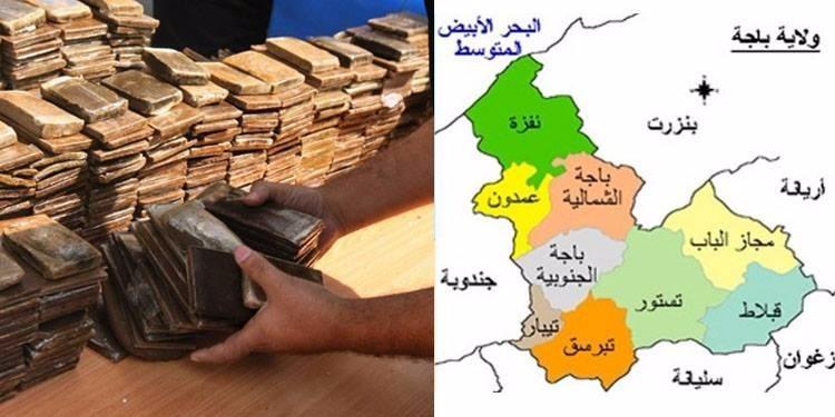 باجة: إلقاء القبض على حارس ليلي بحوزته 180 قطعة من مخدّر الزطلة