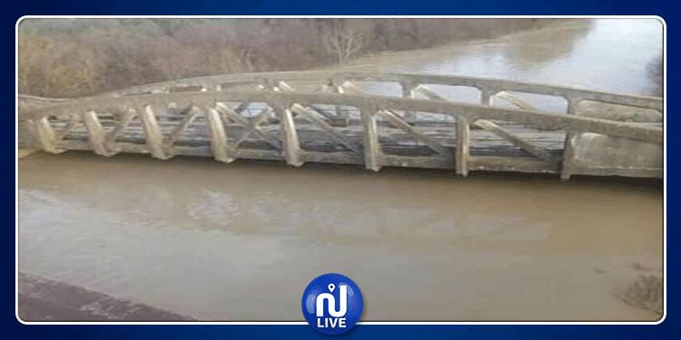 باجة: فيضان وادي مجردة..انقطاع طرقات والمياه تغمر أكثر من 400 هكتار